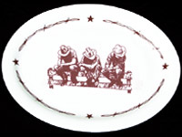 RW203 Ranchware - Serving Platter - Product Image